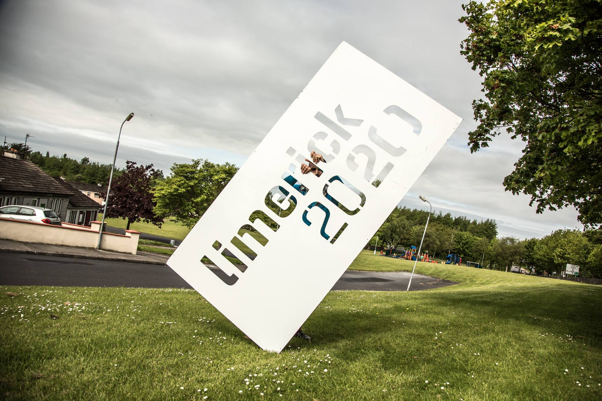 Limerick 2020 sign